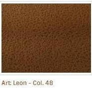 Hnědá barva látky Leon 48