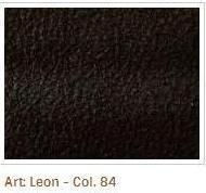 Hnědá barva látky Leon 84