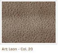 Hnědá barva látky Leon 20