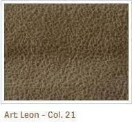 Hnědá barva látky Leon 21