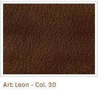 Hnědá barva látky Leon 30
