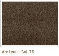 Hnědá barva látky Leon 75