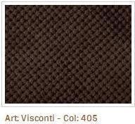 Hnědá látka Visconti 405