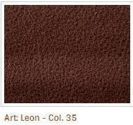 Hnědofialová látka Leon 35