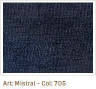 Modrá látka Mistral 705