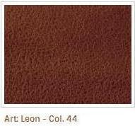 Oranžovohnědá látka Leon 44