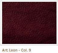 Vínová barva látky Leon 9