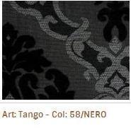 Látka na sedací soupravy Tango 58 Nero