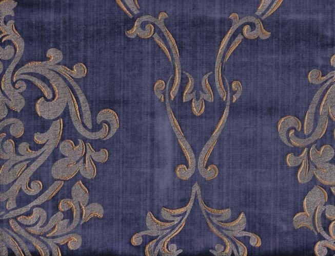 Modrá barva se vzory Super S236