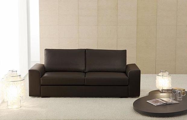 Moderní kožená sedací souprava Baltimora pro pohodlné sezení