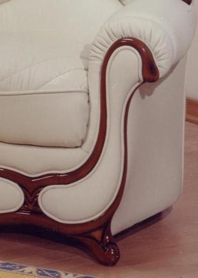 Klasická kožená sedací souprava Feder