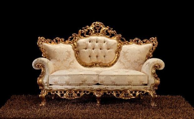 Rustikální sedací souprava Corona