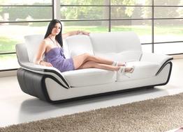 Luxusní kožená sedací souprava Borabora
