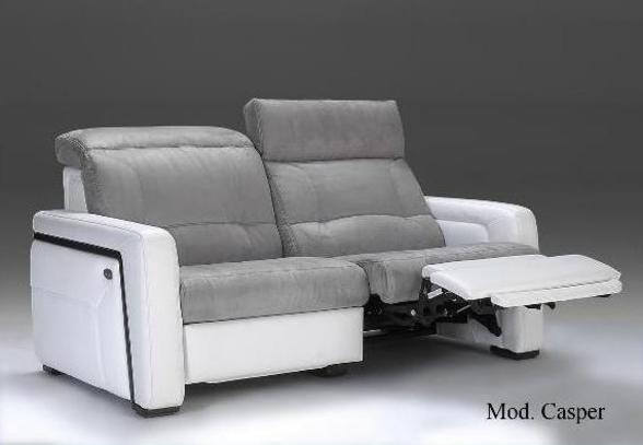 Kožená sedací souprava s polohováním