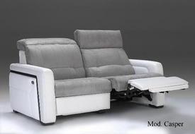 Luxusní kožená sedací souprava Casper