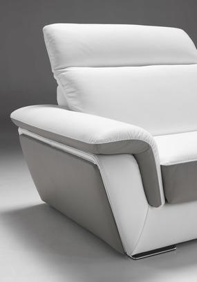 Luxusní kožená sedací souprava City