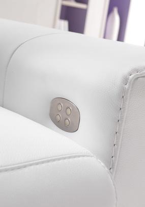 Luxusní kožená sedací souprava Gold