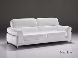 Luxusní kožená sedací souprava Java
