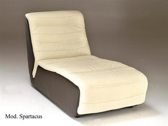 Luxusní kožená sedací souprava Spartacus