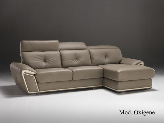Luxusní kožená rohová sedací souprava Oxigene