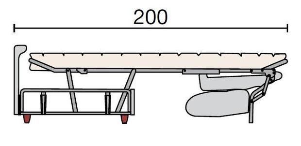 Rozkládací sedací souprava Georgia