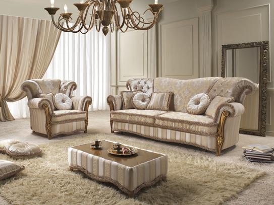 Sedací souprava Turandot 3+2+1 zámecký stylový nábytek