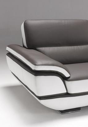 Moderní kožená sedací souprava Eliot