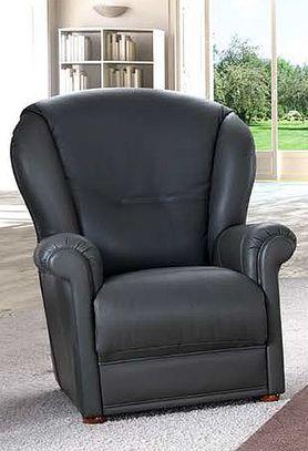 Klasická kožená sedací souprava Joy
