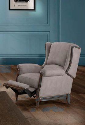Klasická kožená sedací souprava Hugo