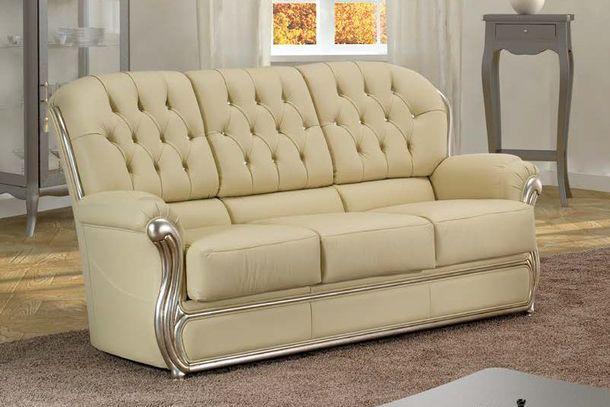 Luxusní kožená sedací souprava Gemma