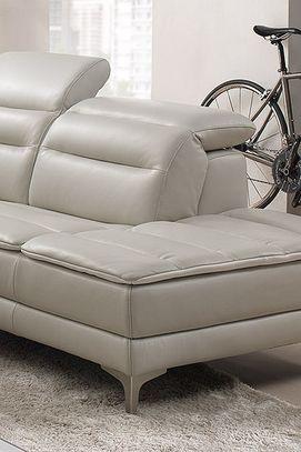 Moderní kožená sedací souprava Lemon