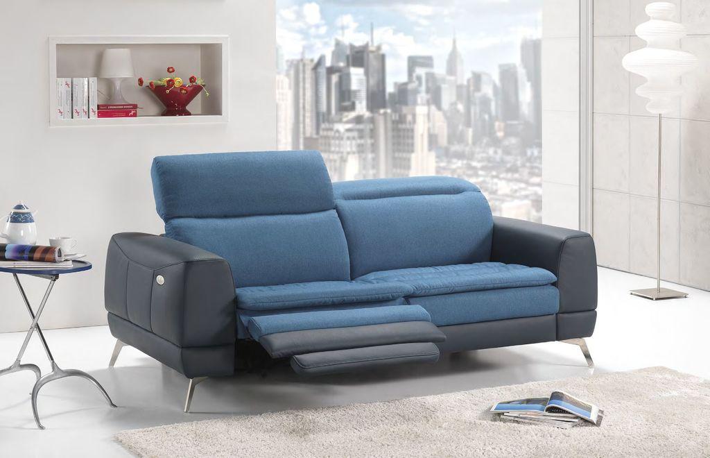 Kombinovaná kožená sedací souprava Yes