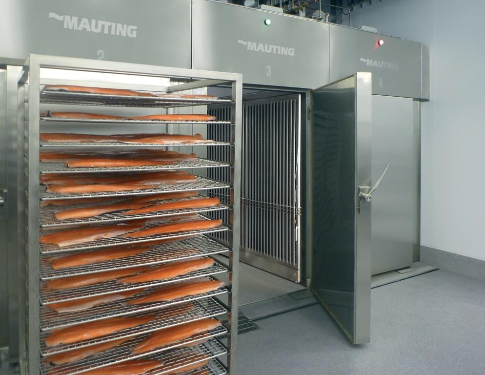 INNOVATED SMOKING CHAMBER MAUTING UKMH WITH HORIZONTAL AIR FLOWING