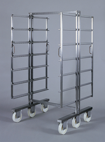 Smoking trolleys are designed for processing of meat