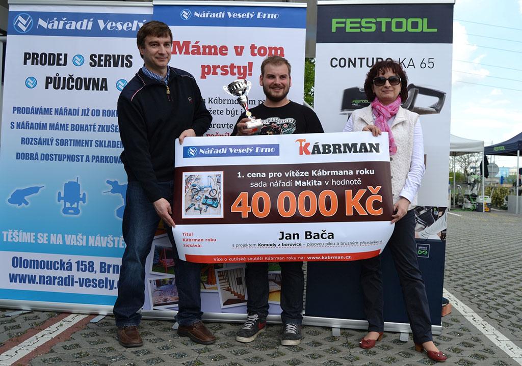 Loňský vítěz soutěže Kábrman