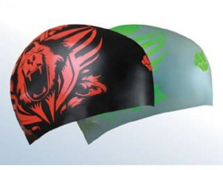 Plavecká čepice Mad Wave Reverse Tiger 3D oboustranná
