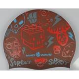 Mad Wave Street silicone plavecká čepice