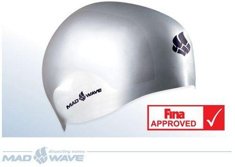 Mad Wave R- cap závodní plavecká čepice