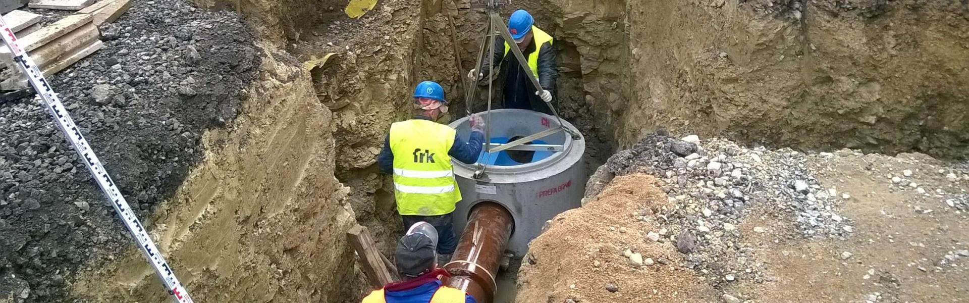 Kompletní vodohospodářské služby