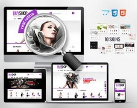 E-shopové šablony