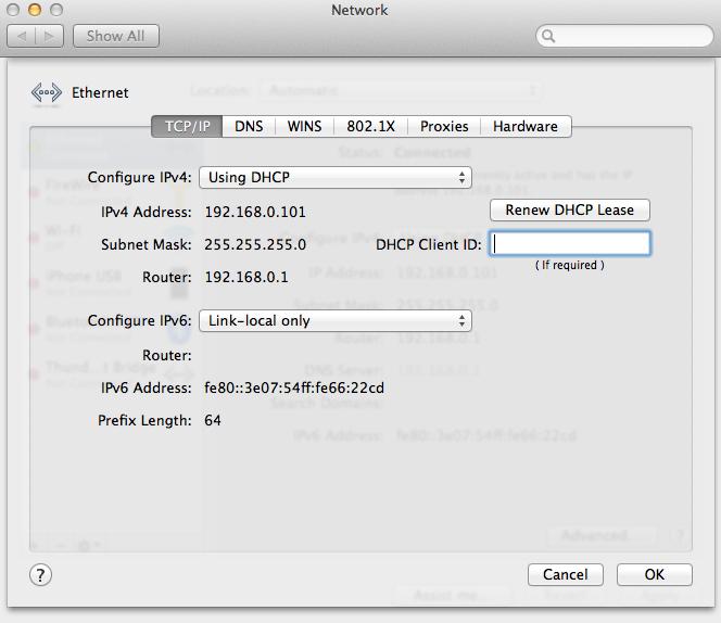Pomalá lokální síť na OSX - tipy jak problém řešit