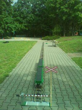 Nesoutežní projekt Zahradní železnice Lucinka
